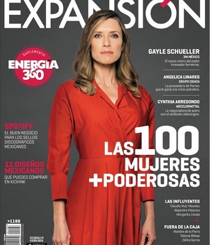 """Exalumnas en """"LAS 100 MUJERES MÁS PODEROSAS DEL 2016"""" de la revista Expansión"""