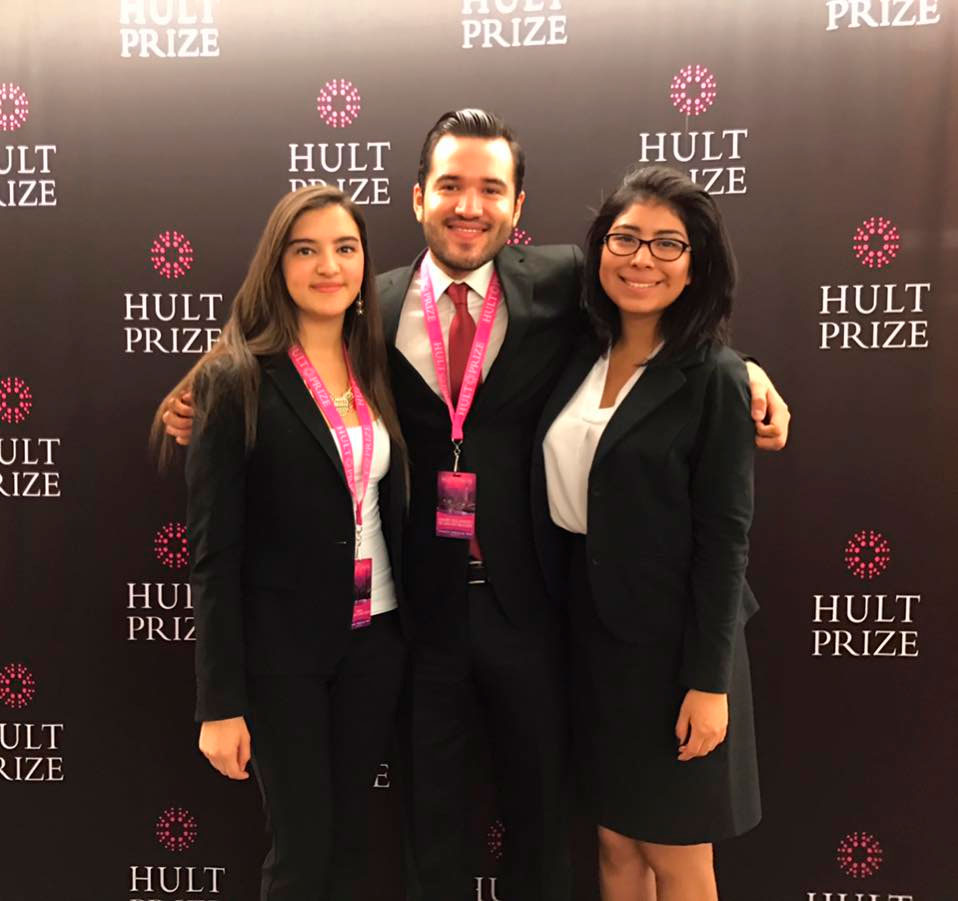 ITAM students successfully pass to the finals of the Hult Prize 2017